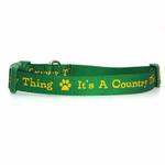 View Image 1 of Zack & Zoey Country Thing Dog Collar