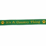 View Image 3 of Zack & Zoey Country Thing Dog Leash