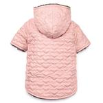 Zack and Zoey Elements Quilted Hearts Dog Jacket - Pink