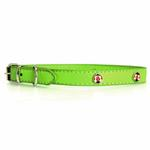 View Image 1 of Zack & Zoey Flutter Bugs Charm Dog Collar - Lady Bug