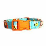 View Image 2 of Zack & Zoey Flutter Bugs Dog Collar - Bumble Bee