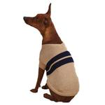View Image 2 of Zack & Zoey Ivy League Dog Sweater - Camel
