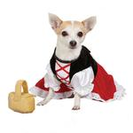 View Image 5 of Lil Red Riding Hood Dog Costume