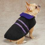 View Image 2 of Zack & Zoey  Reflective Thermal Dog Jacket - Ultra Violet