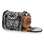 View Image 1 of Zack & Zoey Snow Leopard Pet Carrier
