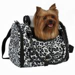 View Image 2 of Zack & Zoey Snow Leopard Pet Carrier