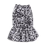 View Image 2 of Zack & Zoey Snow Leopard Satin Dog Dress