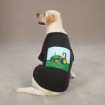 View Image 1 of Zack & Zoey Tractor T-Shirt - Black