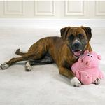 View Image 1 of Zanies Barnyard Grunter Toy for Large Dogs - Pig