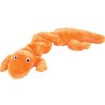 Zanies Bungee Geckos Dog Toy - Orange