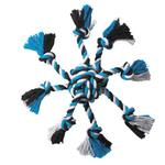 Zanies Crazy Eight Rope Dog Toy - Blue