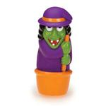 View Image 1 of Zanies Creepy Squeakers Dog Toy - Witch