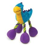View Image 1 of Zanies Dino Babies Plush Dog Toys - Blue