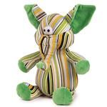 View Image 1 of Zanies Funky Trunks Dog Toy - Green