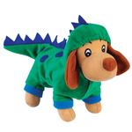 View Image 1 of Zanies Halloween Hounds Toy in Costume - Dogzilla Dinosaur