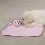 View Image 1 of Zanies My Baby Puppy Blankies - Pink