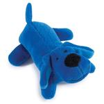 View Image 1 of Zanies Neon Lil' Yelpers Dog Toy - Bright Blue