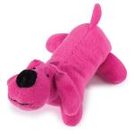 View Image 1 of Zanies Neon Lil' Yelpers Dog Toy - Hot Pink