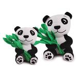 View Image 2 of Zanies Prosperity Panda Dog Toy