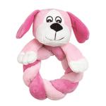 View Image 1 of Zanies Puppy Ring Thing - Pink