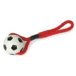 View Image 1 of Zanies Sports Rope and Rubber Tugs - Soccer Ball