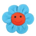 View Image 1 of Zanies Spring Garden Berber Flower Doy Toy - Blue