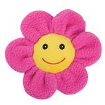 View Image 1 of Zanies Spring Garden Berber Flower Doy Toy - Pink