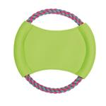 View Image 1 of Zanies Surf's Up Rope Flyer - Parrot Green