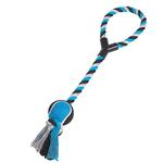Zanies Tennis Toss Dog Toy - Blue