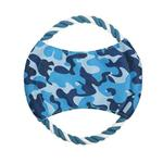 View Image 1 of Zanies Toughstructable Flyer Dog Toy - Blue