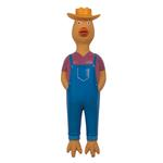 View Image 1 of Zanies Workin' Chicken Dog Toy - Johnny Chickenseed