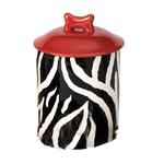 View Image 1 of Zebra Buzz Dog Treat Jar