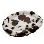 View Image 1 of Zoo Rest Oval Pet Bed - Cow