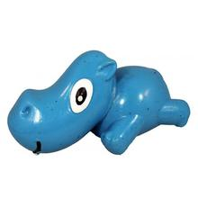 3-Play Hippo Dog Toy by Cycle Dog - Blue
