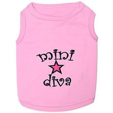 Mini Diva Dog Tank by Parisian Pet