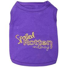 Spoiled Rotten Dog Tank by Parisian Pet