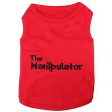 The Manipulator Dog Tank by Parisian Pet