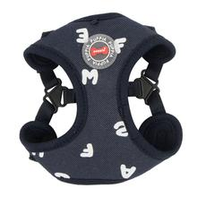 Algo Adjustable Step-In Dog Harness by Puppia - Navy