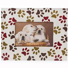 All Over Pawprints Picture Frames by Dog Speak