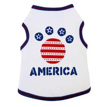 American Paw Dog Tank - White