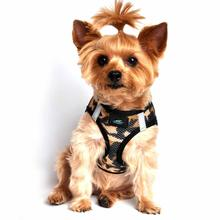 American River Camo Choke Free Dog Harness by Doggie Design - Brown