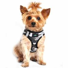 American River Camo Choke-Free Dog Harness by Doggie Design - Gray