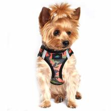 American River Camo Choke Free Dog Harness by Doggie Design - Orange