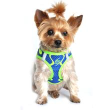 American River Choke Free Dog Harness Neon Sport Collection by Doggie Design - Cobalt Blue