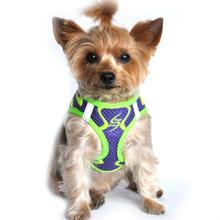 American River Choke Free Dog Harness Neon Sport Collection by Doggie Design - Ultra Violet