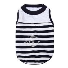 Anchor Dog Tank by Parisian Pet - Navy