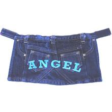 Angel Denim Mini Skirt