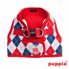Argyle Dog Harness Vest by Puppia - Red