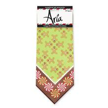 Aria Gingerbread Emoji Dog Bandana