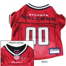 Atlanta Falcons Officially Licensed Dog Jersey - Red